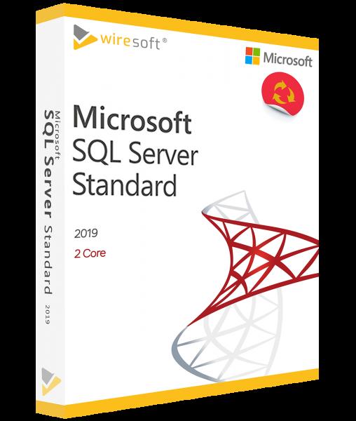 MICROSOFT SQL SERVER 2019 STANDARD 2-CORE
