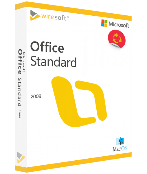MICROSOFT OFFICE MAC 2008 STANDARD