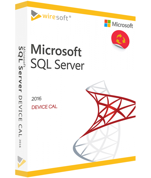 MICROSOFT SQL SERVER 2016 DEVICE CAL